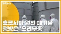 [자막뉴스] 후쿠시마 원전 방사성 폐기물 유실...행방 오리무중 / YTN