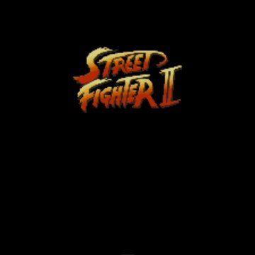Street Fighter II ALL CHARACTERS ARCADE GAME