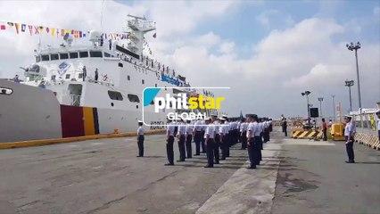 Korean Coast Guard ship docks in Manila for goodwill visit