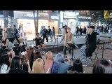 (415) New Singer-Songwriter K-pop Boy Group Appeared In Street