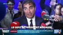 """Qui a passé sa soirée à répéter le mot """"rassemblement"""" ? ... Relevez le quiz du Président Magnien ! - 14/10"""
