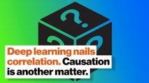 Deep learning nails correlation. Causation is another matter.