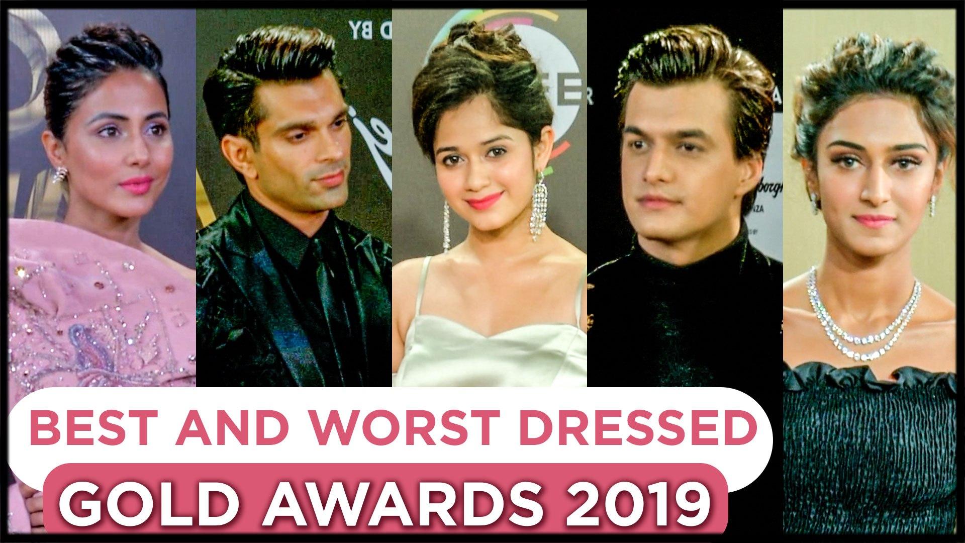 BEST & WORST Dressed   Krystle D'souza, Karishma Tanna, Harleen, Karan Patel At Ekta Kapoor