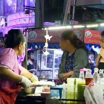 After Midnight in Walking Street, Pattaya in May