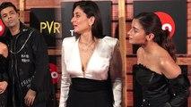 Alia Bhatt & Kareena Kapoor Khan get shocked after Karan Johar's entry in Mami 2019   FilmiBeat