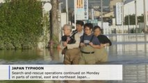 Rescue efforts continue in Japan in wake of devastating Typhoon Hagibis (C)