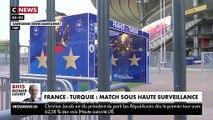 Vive inquiétude pour la sécurité avant le match France-Turquie de ce soir au Stade de France dans un contexte diplomatique tendu en raison de la situation en Syrie