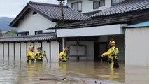 Los muertos tras el paso del tifón Hagibis superan ya los 35