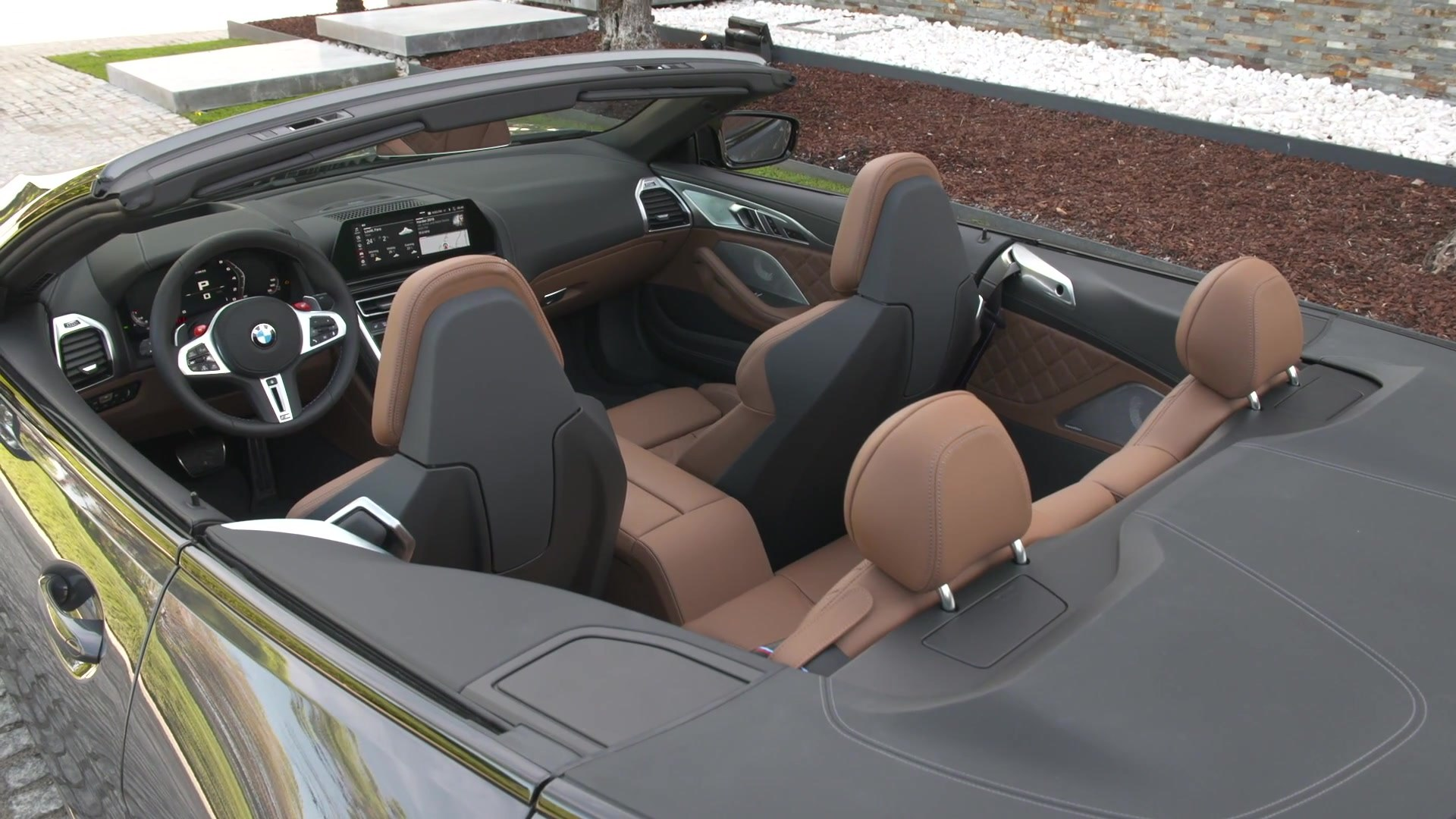 The New Bmw M8 Competition Convertible Interior Design Video Dailymotion