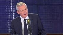 """""""L'Etat aurait dû garder le contrôle sur la fixation des tarifs"""", reconnaît Bruno Le Maire à propos de l'échec de la privatisation des autoroutes"""