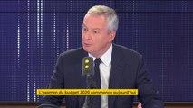 """Privatisation d'ADP : """"On est très loin de la présentation sauvage que l'on fait parfois de cette privatisation"""", assure Bruno Le Maire"""