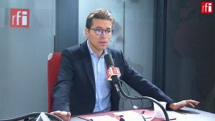 Geoffroy Didier - RFI lundi 14 octobre 2019