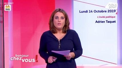 Adrien Taquet - Public Sénat lundi 14 octobre 2019