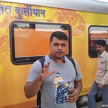 India's First Corporate Train 82501/82502 New Delhi - Lucknow IRCTC Tejas Express
