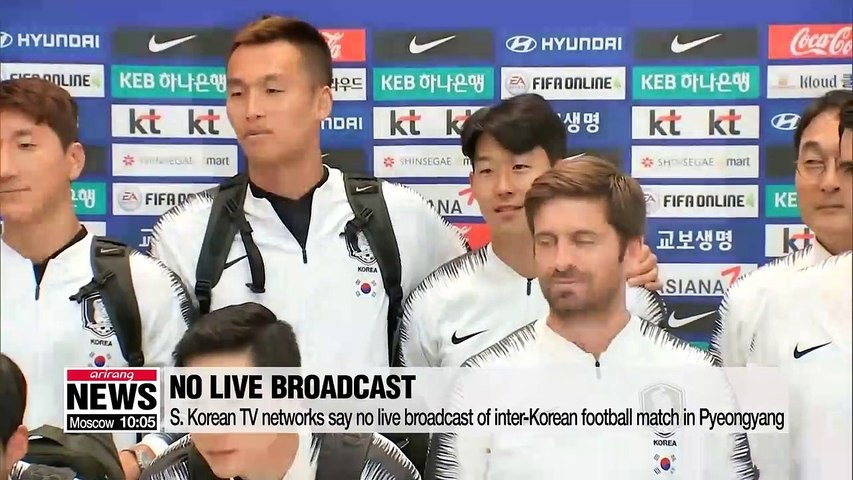 Inter-Korean football match in Pyeongyang for World Cup qualifier unlikely to be broadcast live