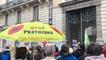A Rennes, les anti-pesticides soutiennent le maire de Langouët