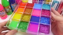 Slime Mix Colors Glitter Combine Mixing Water Clay Learn Colors Kids Play Toys