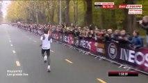 Eliud Kipchoge réalise un marathon en 1h59'40''