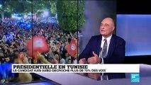 Présidentielle au Tunisie : la candidat Kaïs Saïed décroche plus de 70% des voix