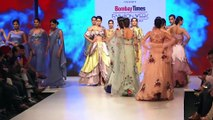 Amyra Dastur & Sheeba Walk The Ramp For S Closet Show At Bombay Times Fashion Week Day 3