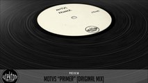 MOTVS - Primer (Original Mix) - Official Preview (Autektone Records)