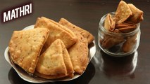 How To Make Mathri   Crispy Rajasthani Mathri Recipe   Matthi Recipe   Indian TeaTime Snacks  Ruchi