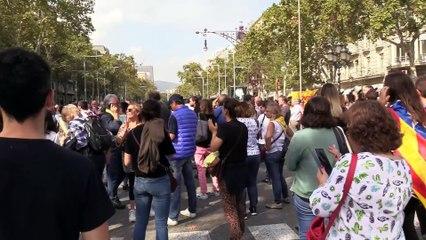 En directo, protestas en Barcelona tras la sentencia del Procés (2)