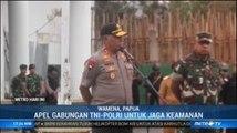 Kapolda Papua dan Pangdam XVII Cendrawasih Gelar Apel Gabungan