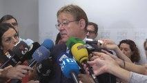 """Puig pide acatar la sentencia y afrontar ahora una nueva fase de """"ley y diálogo"""""""