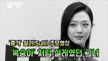 '충격' 설리(Sulli) 추모영상, '끝'이요? '복숭아' 처럼 설레였던 그녀의 삶