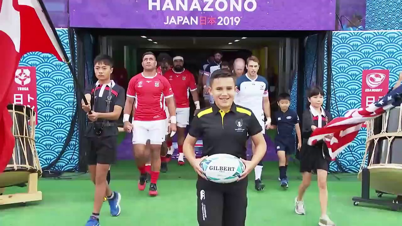 Extended Highlights USA v Tonga – Rugby World Cup 2019