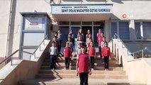 İlkokul öğrencilerinden Mehmetçiğe destek klibi
