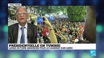 """Présidentielle en Tunisie : Kaïs Saïed s'est fait élire """"sans programme et sans campagne électorale"""""""