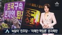'속앓이' 민주당…일부 지지층 '이해찬 책임론' 문자폭탄