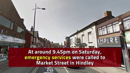 Man taken to hospital after being 'left for dead' on busy Wigan street