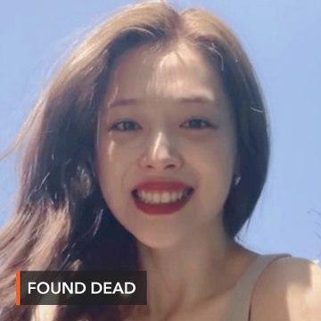 K-pop star Sulli found dead