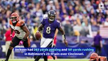 Ravens' Lamar Jackson Makes NFL History in Win Over Bengals