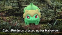 Pokémon GO Halloween is back!