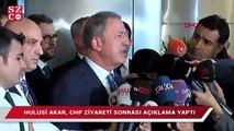 Hulusi Akar'dan IŞİD hapishanesi açıklaması