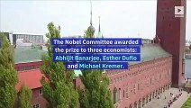 Nobel Prizes in Economic Sciences Awarded for Work in Reducing Poverty