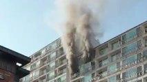 경기 화성시 아파트 13층서 화재...2명 사상 / YTN