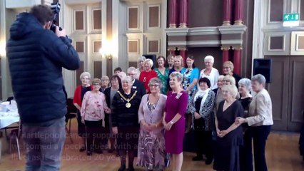 Royal seal of approval for Hartlepool breast cancer support group