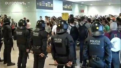 Protestas en Cataluña contra la sentencia del 'procés'
