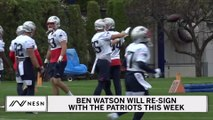 Ben Watson Re-Signs With Patriots, Again