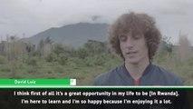 Arsenal's David Luiz visits Rwanda