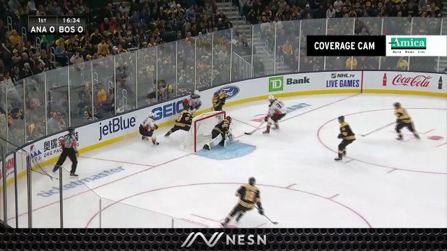 Bruins' Strong Defensive Play Has Thwarted Duck's Offensive Chances