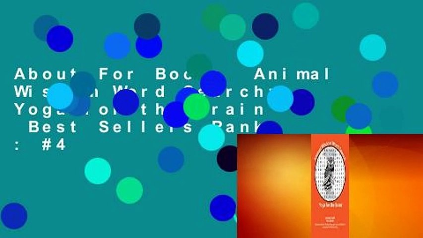 About For Books  Animal Wisdom Word Search: Yoga for the Brain  Best Sellers Rank : #4