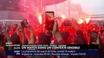 """""""Pas de débordement"""" avant France - Turquie"""