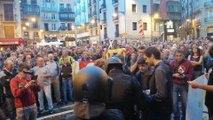 Concentración en Pamplona para rechazar la sentencia del 'procés'