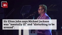 Elton John Comments On A Michael Jackson Moment